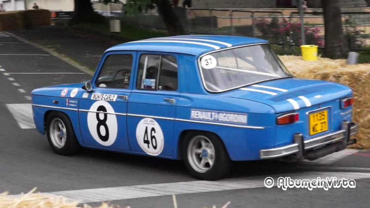 grand prix historique bressuire 2016 renault 8 gordini s ries 2 et 3 youtube. Black Bedroom Furniture Sets. Home Design Ideas