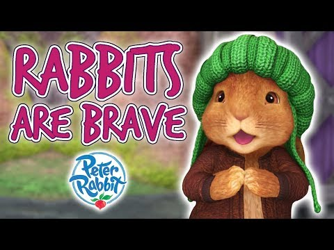 Peter Rabbit - Rabbits are Brave | Cartoons for Kids