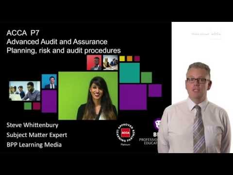P7: planning, risk and audit procedures
