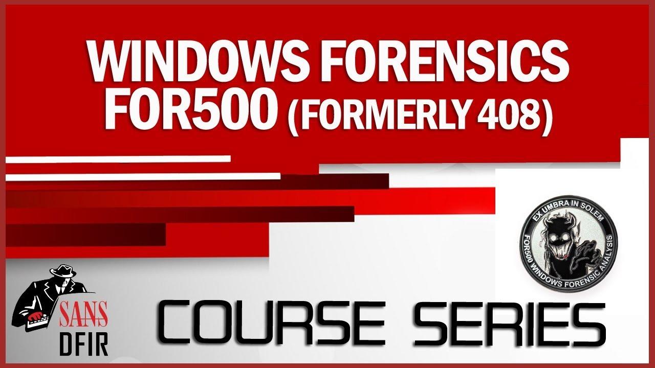 Sans For500 Download