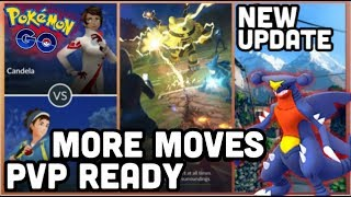 NEW PVP UPDATE FOR POKEMON GO | NEW MOVES LOADING SCREEN & MORE
