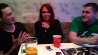 два парня и девушка (домашнее видео)