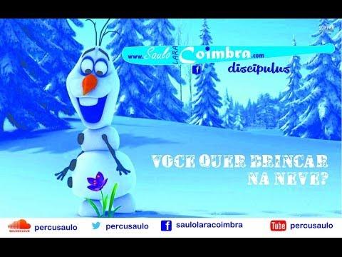 """Você quer brincar na neve"" FROZEN ""Do You Want to Build a Snowman"" - COVER Saulo Coimbra"