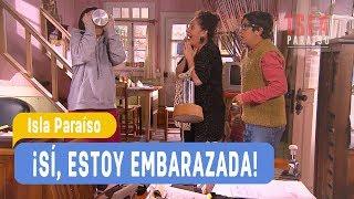 Isla Paraiso - !Si, estoy embarazada! Angelina y Juan Luis