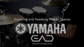 YAMAHA EAD10 Drum Module Demo; First 12 Scenes Exploration by Bryan Macaranas