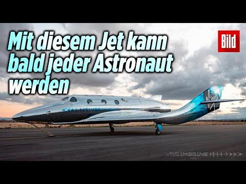 VSS Imagine: Virgin Galactic stellt neuen Raumschiff-Jet vor