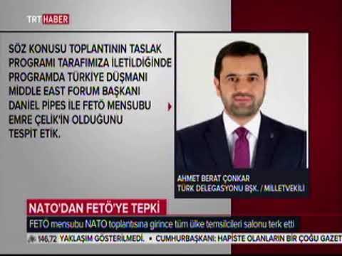 Ahmet Berat ÇONKAR - TRT Haber NATO'dan FETÖ'ye Tepki - 20.09.2017