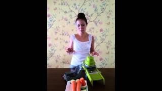 Gadgets with Lynette: Mandoline Swing Slicer 2.0 from De Buyer