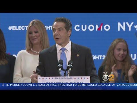 Governor Andrew Cuomo Easily Wins Third Term
