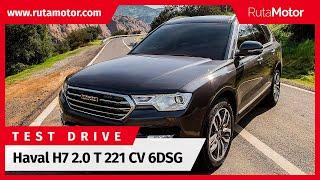 [Test Drive Rutamotor] Haval H7 2.0T 221 CV 6DSG Luxury 2018 prueba en español