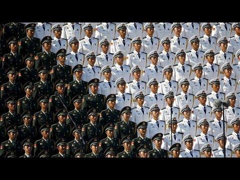 Massive Military Parade Rolls Through Beijing