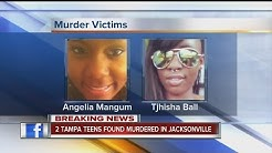 Two Tampa teens found dead in Jacksonville