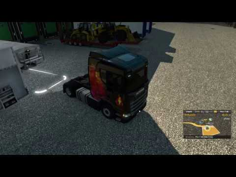 Euro truck simulator 2 traveling Scandinavia multiplayer part 2!!! |