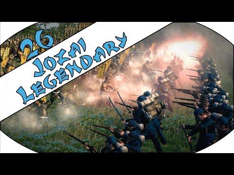 INSANE NAVAL BOMBARDMENT - Jozai (Legendary) - Total War: Shogun 2 - Fall of the Samurai - Ep.26!