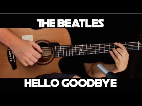 Kelly Valleau - Hello, Goodbye (The Beatles) - Fingerstyle Guitar