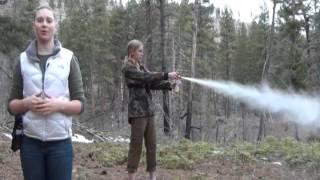 How To Use Bear Spray
