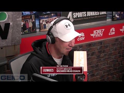Junkies Interview Wiz Coach Scott Brooks