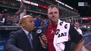 Jay Bruce and Jose Ramirez on dramatic 10th inning, walk-off | INDIANS WIN STREAK