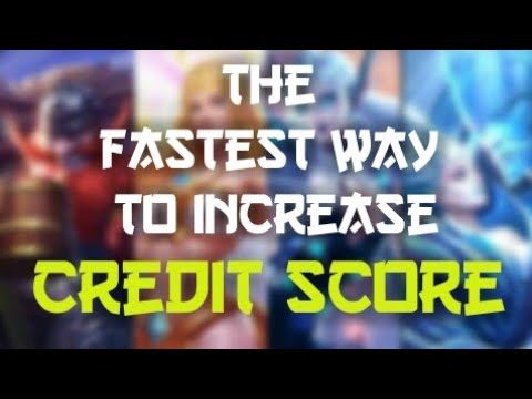 Fastest Way To Increase Low Credit Score Tips Tricks