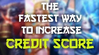 Fastest way to increase LOW CREDIT SCORE?! - Tips & Tricks - Mobile Legends