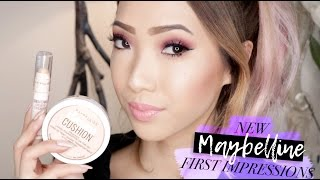 NEW Maybelline Products! First Impressions - Dream Cushion Foundation