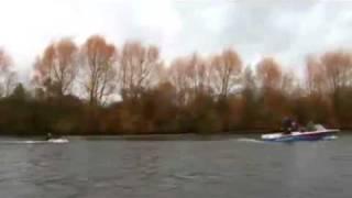 Sport Relief Water Ski Challenge w/Christine Bleakley - Part 1