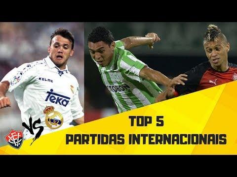 TOP 5  - PARTIDAS INTERNACIONAIS DO EC VITÓRIA
