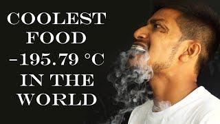 Coolest Food In The World   −195.79 °C Using Liquid Nitrogen   Super Slow Motion