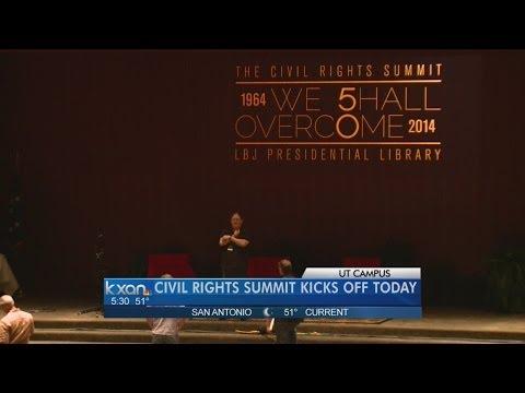 Civil Rights Summit Begins