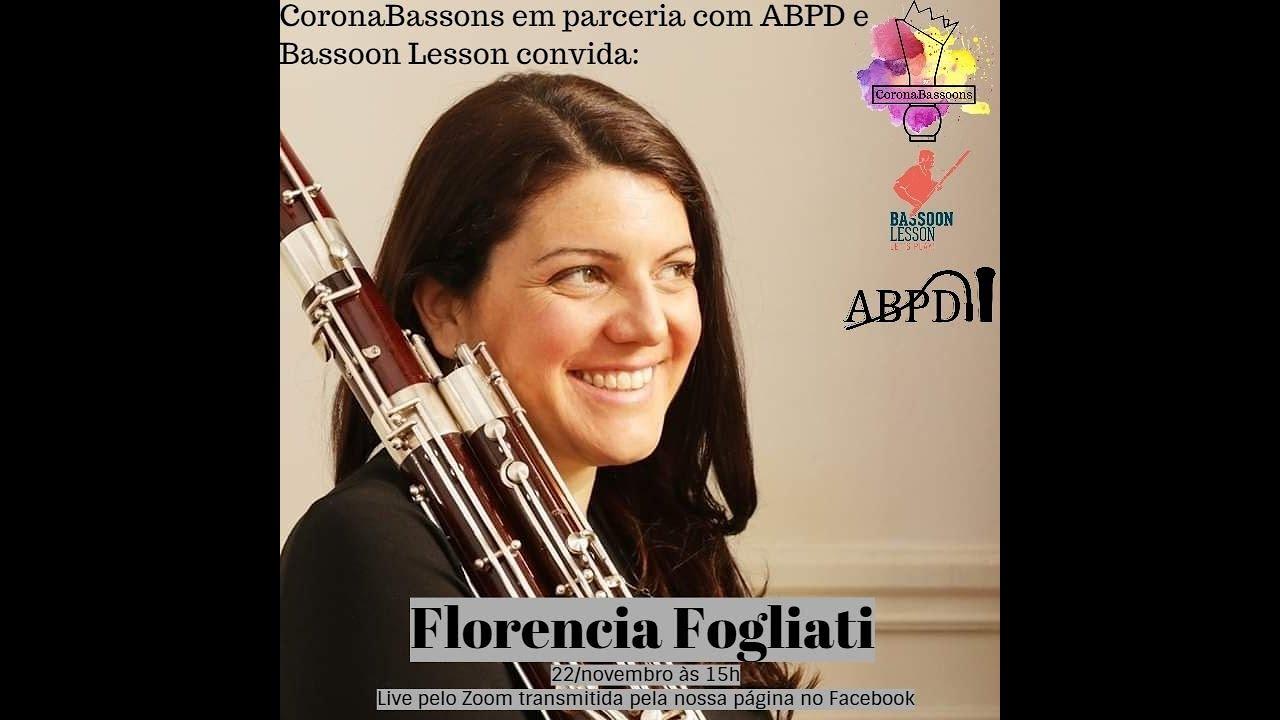Live com Florencia Fogliati