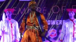 ssjcoe fashion show 2k17 maratha empire