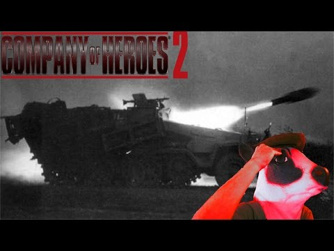 Stuka Zu Fuss Bombardement - Company Of Heroes 2: The British Forces OKW Gameplay