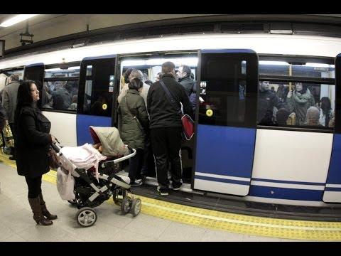Imágenes inéditas muestran cómo actúan los ladrones en el Metro de Madrid