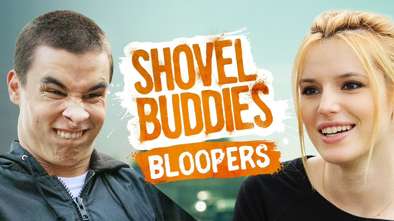 Shovel Buddies Bloopers with Kian Lawley, Bella Thorne and the cast!
