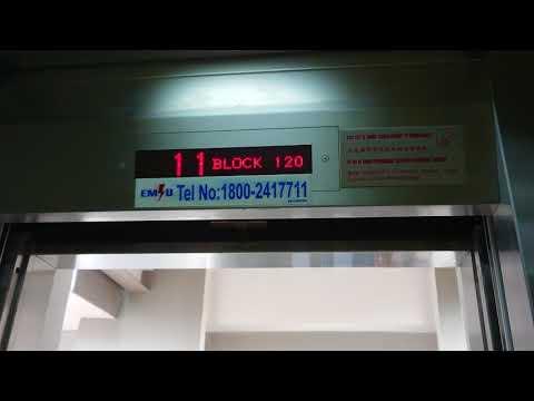 HDB Block 120 Fujitec Ang Mo Kio Lift Ride (New)