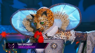 "Leopard sings ""Big Spender"" by Shirley Bassey | THE MASKED SINGER | SEASON 2"