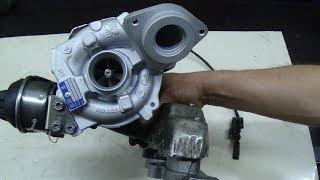 Ремонт турбокомпрессора Volkswagen Touran 2 0