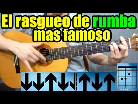 Como tocar RUMBA FLAMENCA en guitarra