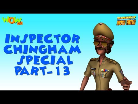 Inspector Chingam Special - Part 13 - Motu Patlu Compilation As seen on Nickelodeon