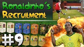 FIFA 15 - Ronaldinho's Recruitment | EP. 9 (BIN SHOT CHALLENGE)