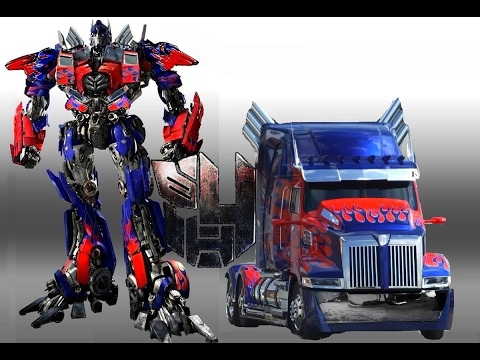 How do you transform optimus prime from robot to truck