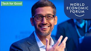 An Insight, An Idea with Sundar Pichai | DAVOS 2020