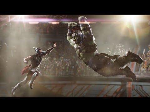 Thor vs Hulk HD fight scene Thor Ragnarok...