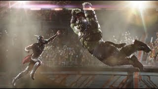Thor vs Hulk HD fight scene Thor Ragnarok in  Hindi