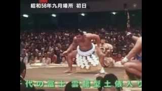 National Art of Sumo volume 2 : 1981 - 1983 http://www.dosukoi.fr.