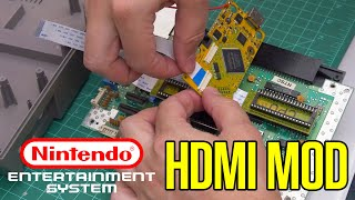 How to Mod a NES for HDMI 1080p Output : BUILDING WITH POWER