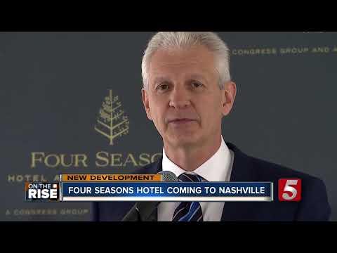 Construction Begins On Nashville's Four Seasons Hotel