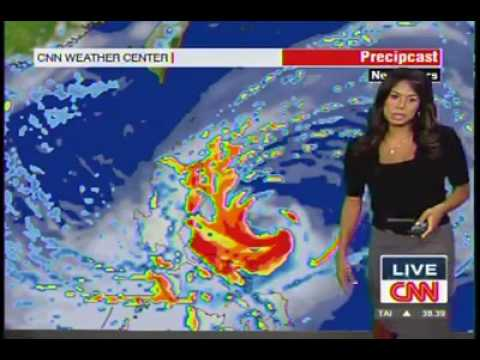 Weather Forecast Update on SUPER Typhoon PARMA thursday CNN