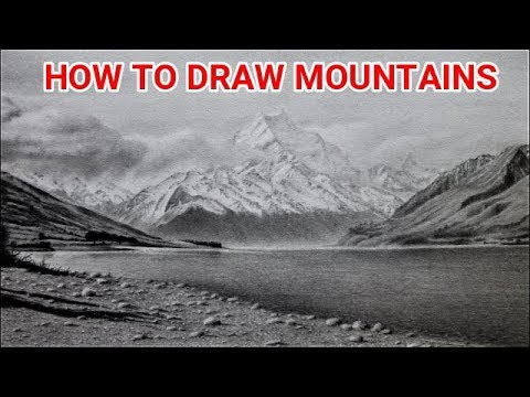 how-to-draw-mountain-landscapes-with-graphite
