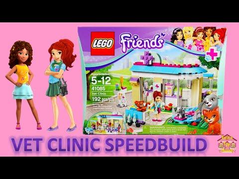 LEGO Friends Vet Clinic with Mia 41085 Speedbuild | Evies